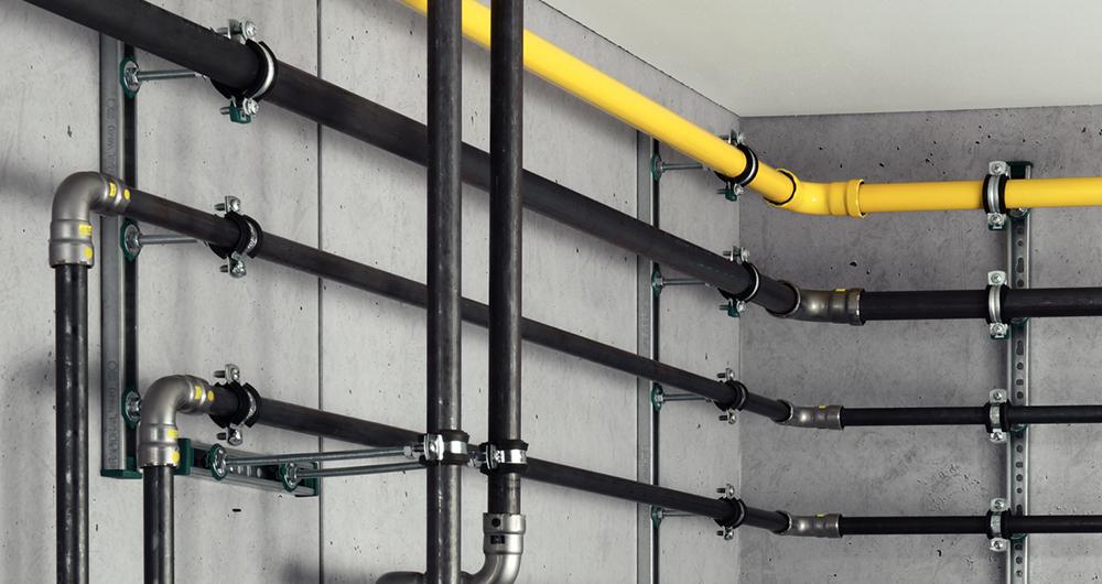 """""""Студено"""" пресоване на стоманени тръби за газови инсталации с помощта на Viega Megapress G"""
