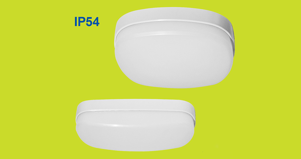 Компактни влагозащитени плафониери BALI LED IP54 VIVALUX