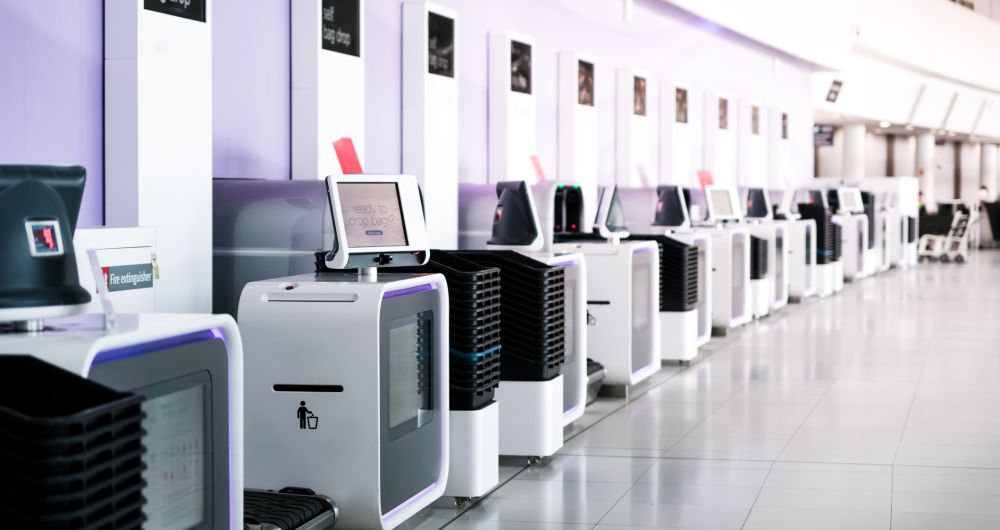 Системи за автоматизация на летищни терминали