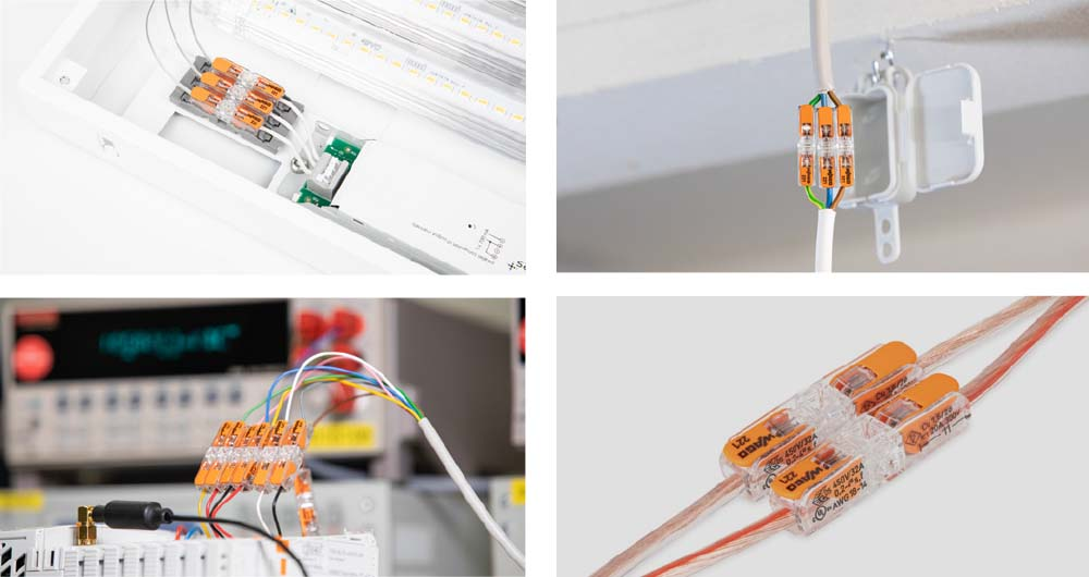 Компактни размери и свързване без инструменти