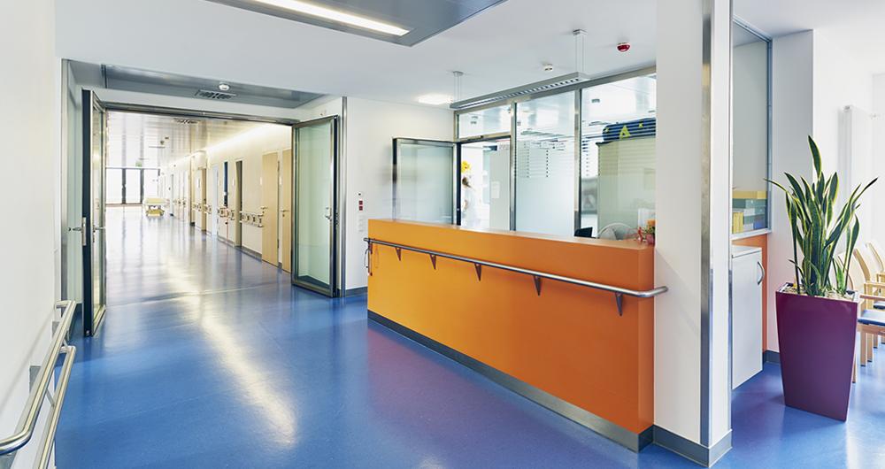 Сградна автоматизация в лечебни и здравни заведения
