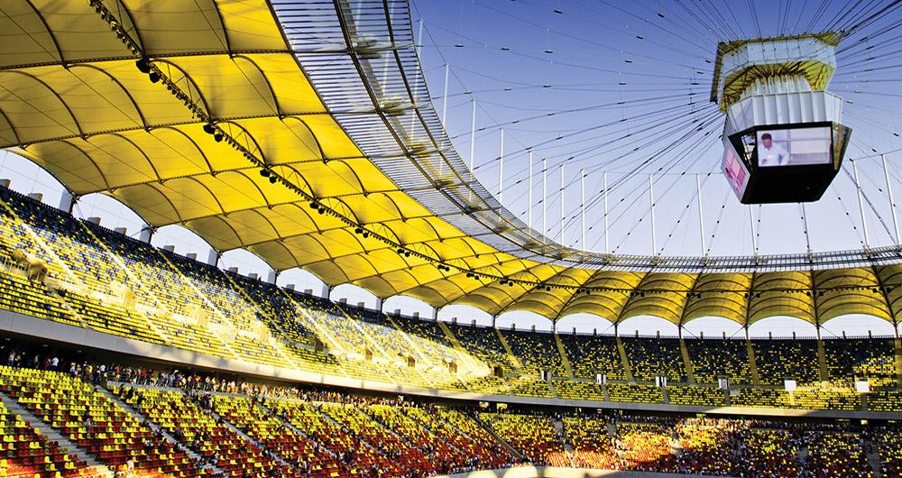 Високотехнологични спортни съоръжения - част 1