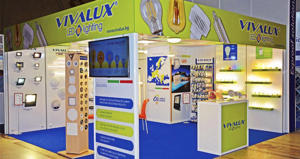 VIVALUX участва за втора поредна година на изложението IEAS в Румъния