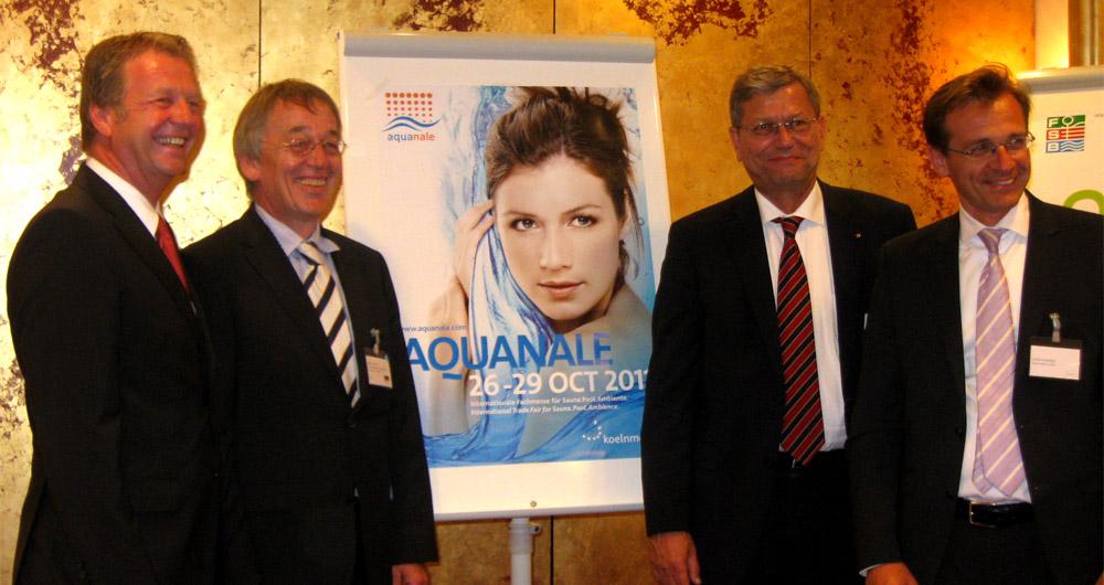 Изложението Aquanale за 2011 г. бе представено официално