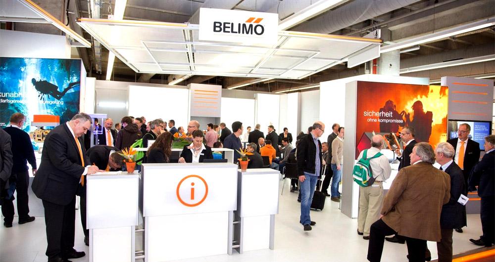 Belimo представи новите си продукти на изложението ISH Frankfurt 2015