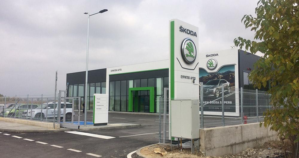 Ховал достави котли на газ и нафта за автоцентъра на Еуратек Ауто в Пловдив