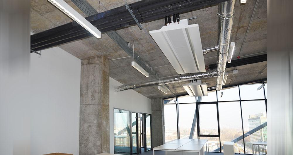 Сградни инсталации в Колайдър Активити Център