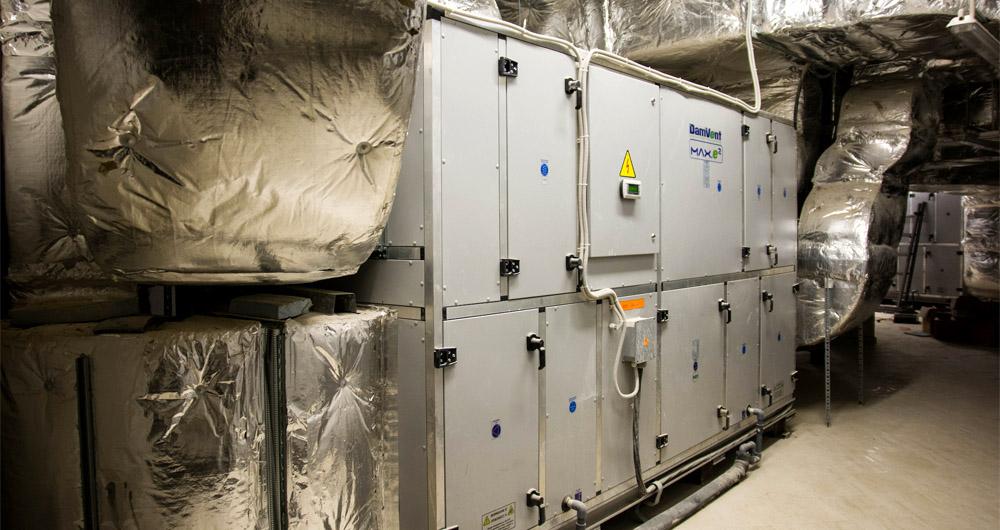 Хибридни климатични камери с двустепенна рекуперация