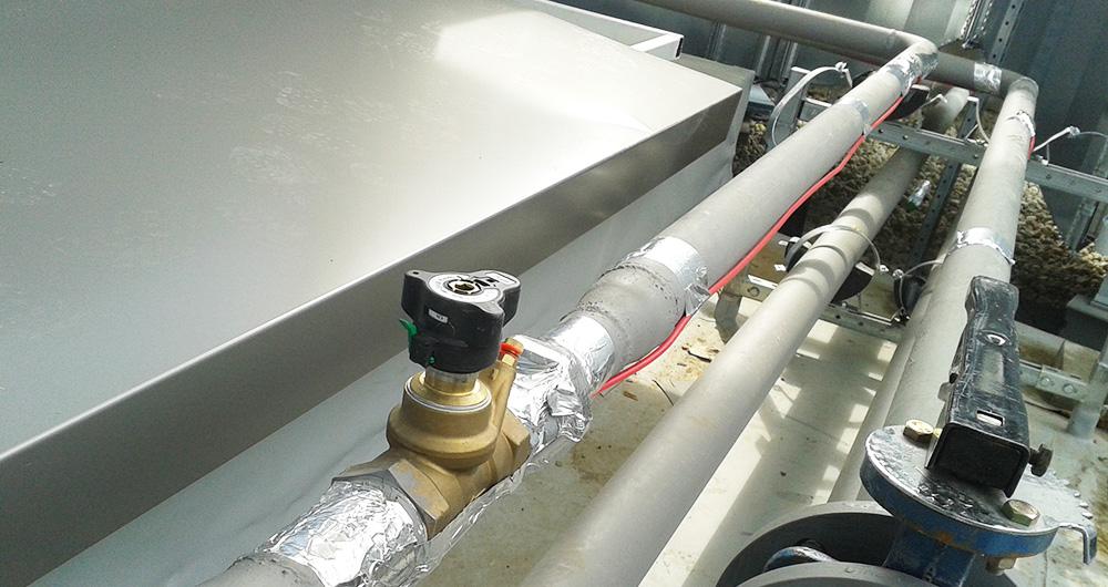 Данфос Системи за отопление: Системи против замръзване на тръби и образуване на лед на покрива