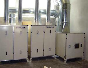 Венто-К: ВЕНТО-К разработи и внедри филтърна система в Паломита ЕАД