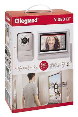 Филкаб АД предлага видеодомофония на Групата Легранд, лидер в домофонните системи