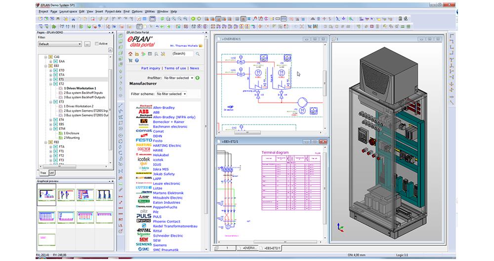 Новата версия на софтуерната платформа Eplan 2.2