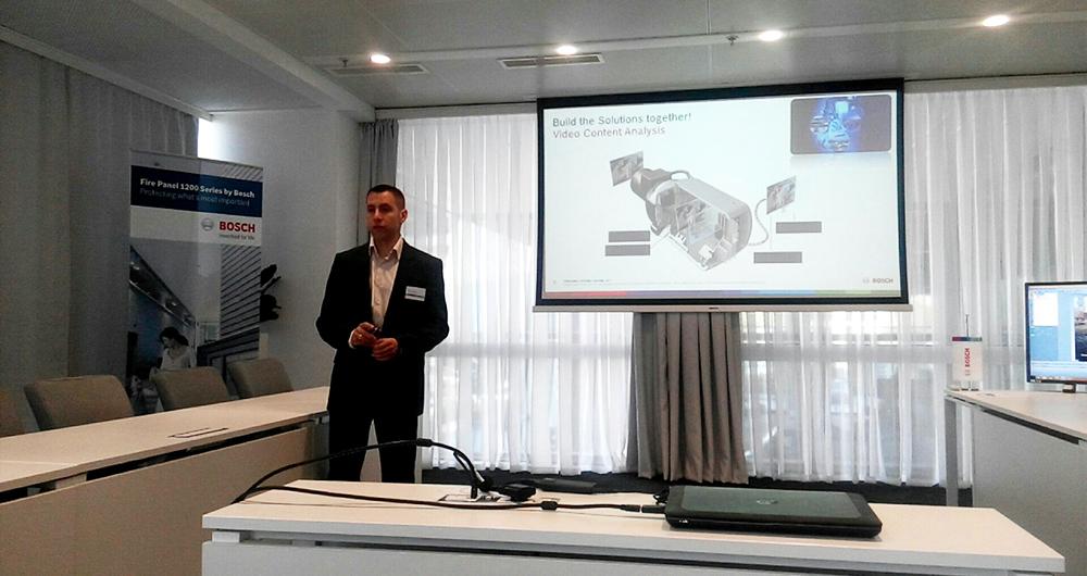 Bosch проведе семинар за иновативни решения за сигурност и безопасност