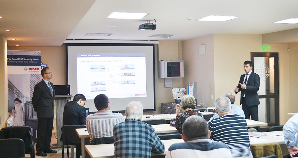 Bosch Security Systems проведе поредица от семинари в страната