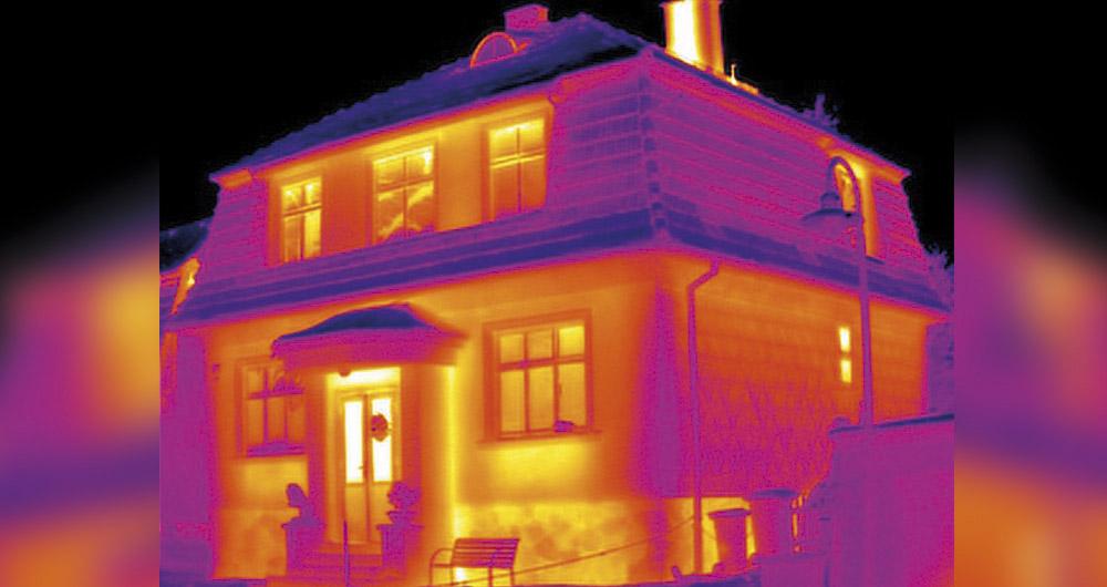 Диагностика на термоизолацията на сгради