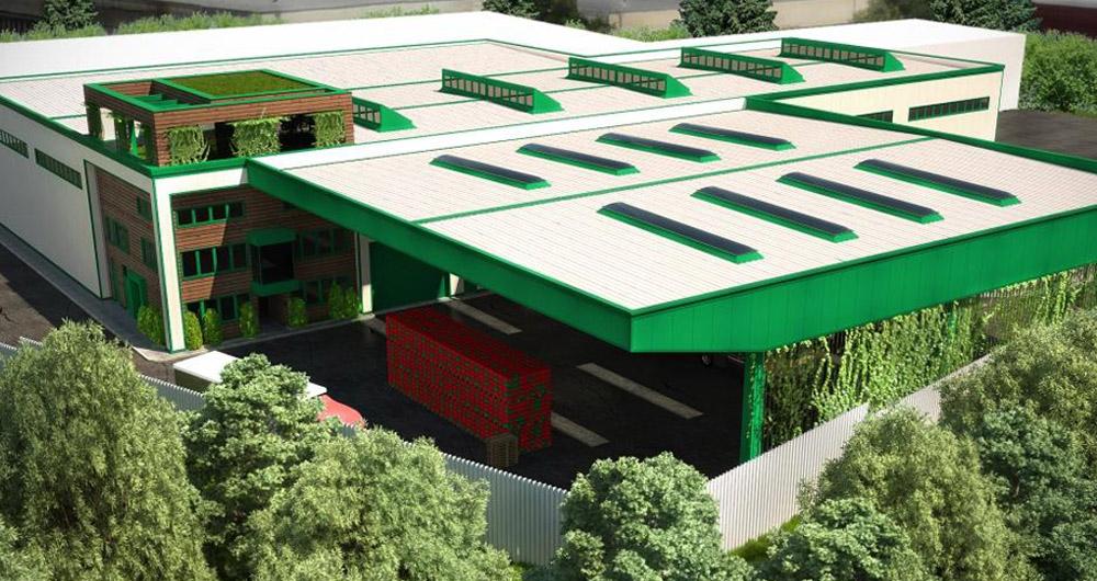Загорка стартира изграждането на зелен склад за готова продукция