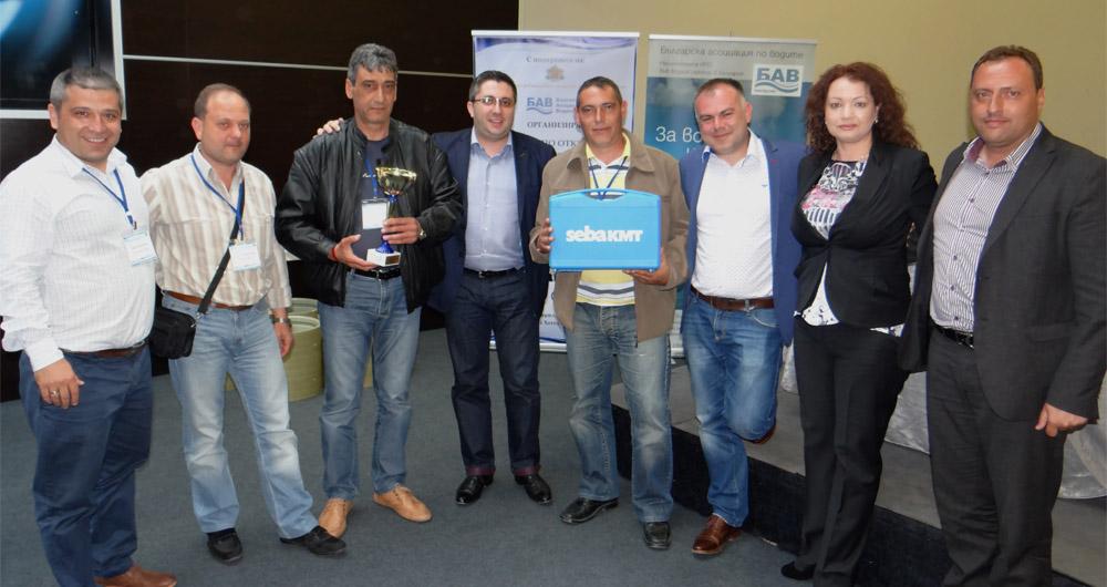 ВиК Хасково спечели организираното от БАВ професионално състезание по откриване на скрити течове