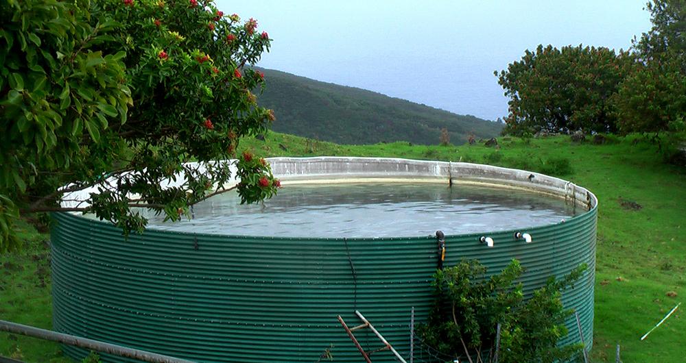 Материали за резервоари за съхранение на вода