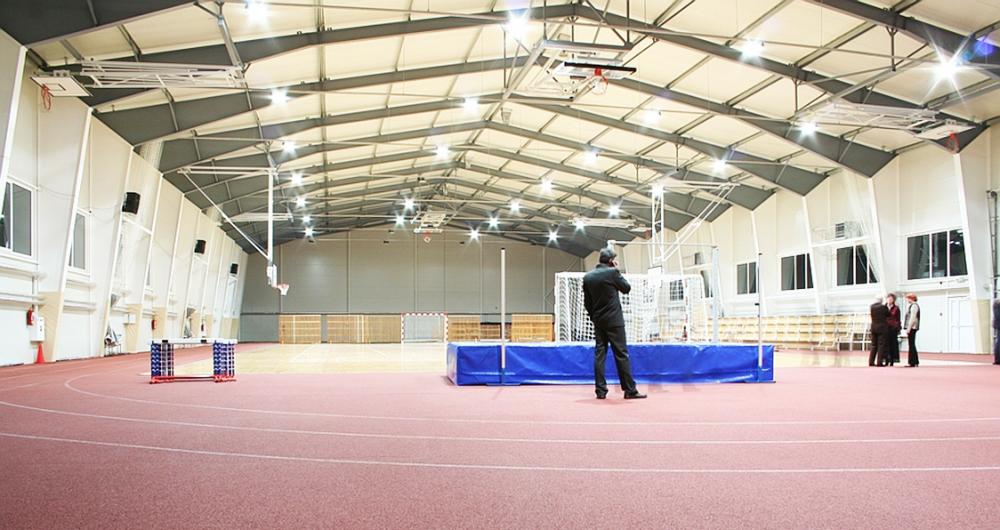 Инсталации за спортни сгради и съоръжения